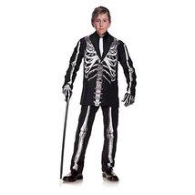 Little BOY'S Skeleton Suit Costume - $37.16