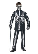Little BOY'S Skeleton Suit Costume - $37.16