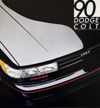1990 Dodge COLT sales brochure catalog US 90 GL GT Mitsubishi - $6.00