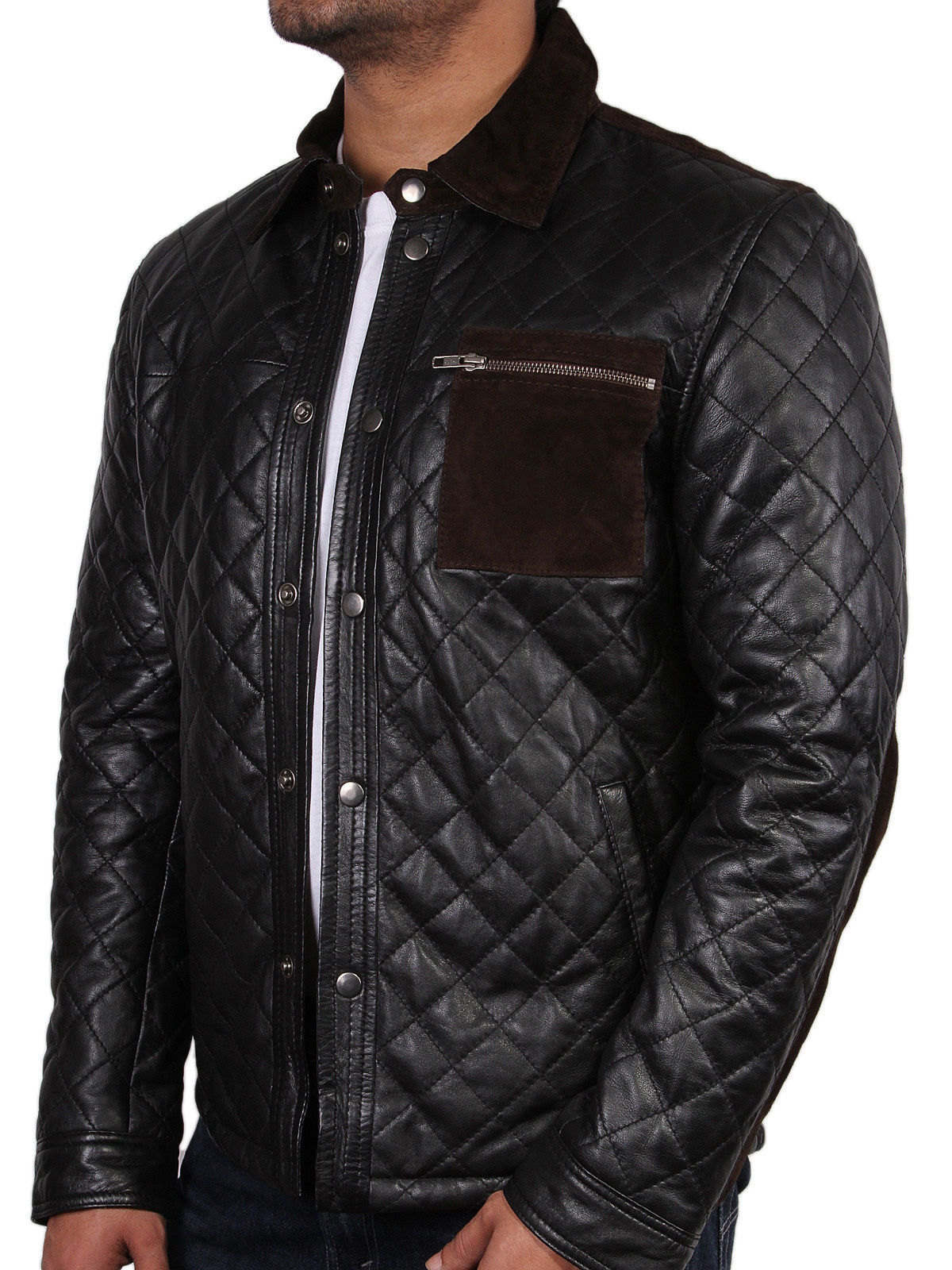 Quilted jacket mens fashion 52