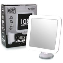 Fancii 10X Magnifying Lighted Makeup Mirror Day... - $40.06