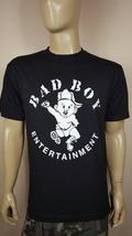 New Style Writing  Bad Boy Entertainment Black T-Shirt / P Diddy Puff Sean  - $14.99+