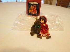 Hallmark Keepsake Julianne and Jeddy teddy bear Special ornament Christm... - $25.73