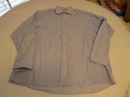 Mens Michael Kors 17 1/2 34-35 striped button up long sleeve shirt casua... - €34,00 EUR