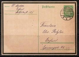 GERMANY (9/13/34) HINDENBURG MOURNING PPC---Black Borders---SCARCE  (OS-... - $14.85