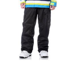 Sessions Zoom Pants Mens Snowboard Ski Cargo Waterproof Black L XL - $99.05