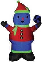 Neon Snowman Airblown Christmas Decoration - $45.29