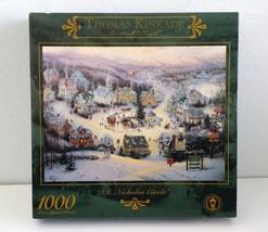 1997 Thomas Kincade Jigsaw Puzzle St Nicholas Circle Ceaco USA Sealed 10... - $35.79