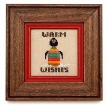 Wee One: Wally cross stitch chart Heart in Hand - $7.65