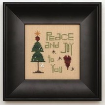 Peace and Joy Kit cross stitch kit Heart In Hand  - $18.00