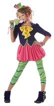 California Costumes Girls Tween Mad Hatter Costume, Multi, X-Large - $41.31