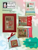 Christmas Cheer 2 cross stitch chart Heart in Hand - $11.70