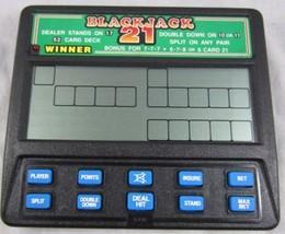 Radica Blackjack 21 Handheld Game Model 1450 - $3.99