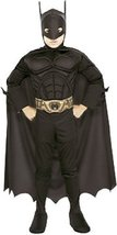 Rubies Deluxe Child Muscle Chest Batman Halloween Costume | Medium - $738,25 MXN