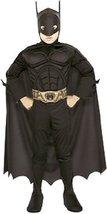 Rubies Deluxe Child Muscle Chest Batman Halloween Costume | Medium - $36.52