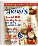 Decorative Artist's Workbook~Oct 2002~LN - $2.00
