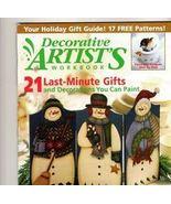 Decorative Artist's Workbook~Dec 2002~LN Patter... - $2.00