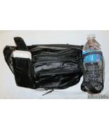 Genuine Lambskin Leather Fanny Pack - #3074 - BLACK - $21.00