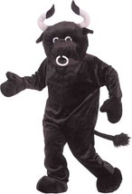 Bull Deluxe Mascot Adult Costume-Standard - $120.21