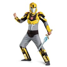 Disguise Bumblebee Animated Classic Muscle Costume, Medium (7-8) - $34.14
