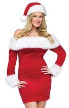 Santa Sweetie Adult Costume Size Small/Medium (2-8) - $45.29