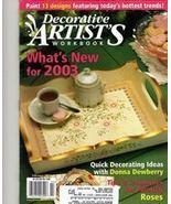 Decorative Artist's Workbook Patterns & Instruc... - $2.00