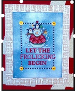 Let The Frolicking Begin cross stitch chart Amy Bruecken Designs - $7.20