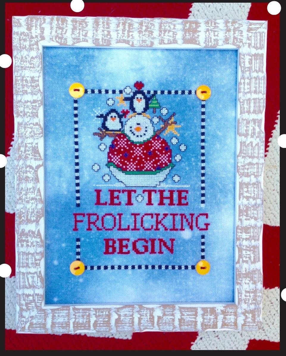 EMBELLISHMENT PACK Let The Frolicking Begin cross stitch Amy Bruecken Designs