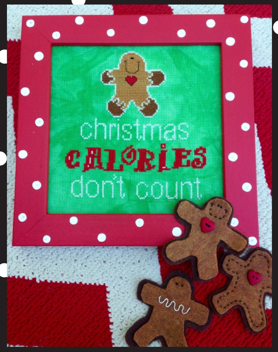 EMBELLISHMENT PACK Christmas Caolories Don't Count Amy Bruecken Designs