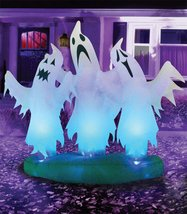 Morris Costumes Floating 3 Ghosts 6 Ft - $73.19