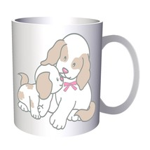 Dog Love Mother With Pup 11oz Mug aa997 - $11.98
