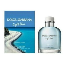 LIGHT BLUE Swimming In Lipari BY  Dolce & Gabbana 4.2 oz EDT spray Men 1... - $59.99