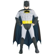 Muscle Chest Batman Halloween Costume-Medium Size (8-10) - £25.76 GBP