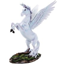 Pegasus Divine Stallion with Open Wings Fantasy Collectible Figurine 12 ... - £37.05 GBP