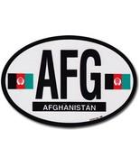 Afghanistan Oval Decal - $2.70