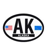 Alaska Oval Decal - $2.70