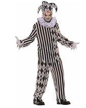 Evil Harlequin Teen Costume 14-16 - $34.53