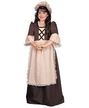 Colonial Girl Costume - Small - $33.33