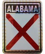 Alabama Reflective Decal - $2.70