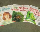 I WONDER WHY:  I Blink, Snakes Shed Their Skins, Spiders Spin Webs -- 3 books