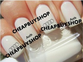 Top Quality》AUDI LUXURY AUTOMOBILE RACE CAR》Tattoo Nail Art Decal《NON-TOXIC - $14.99