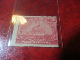 1898 2-1/2c Revenue Battleship Stamp - Used - $4.94