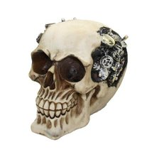 Steampunk Cool Skull Collectible Figurine - $12.86