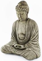 Buddha Meditating Concrete Statue  - $198.00