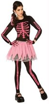 Morris Costumes Pink Punk Skeleton Adult Small - $37.24