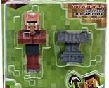 Minecraft Overworld 3 inch Action Figure Pack - Villager Blacksmith - 16512