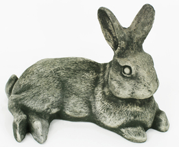 Laying Rabbit Concrete Statue  - $79.00