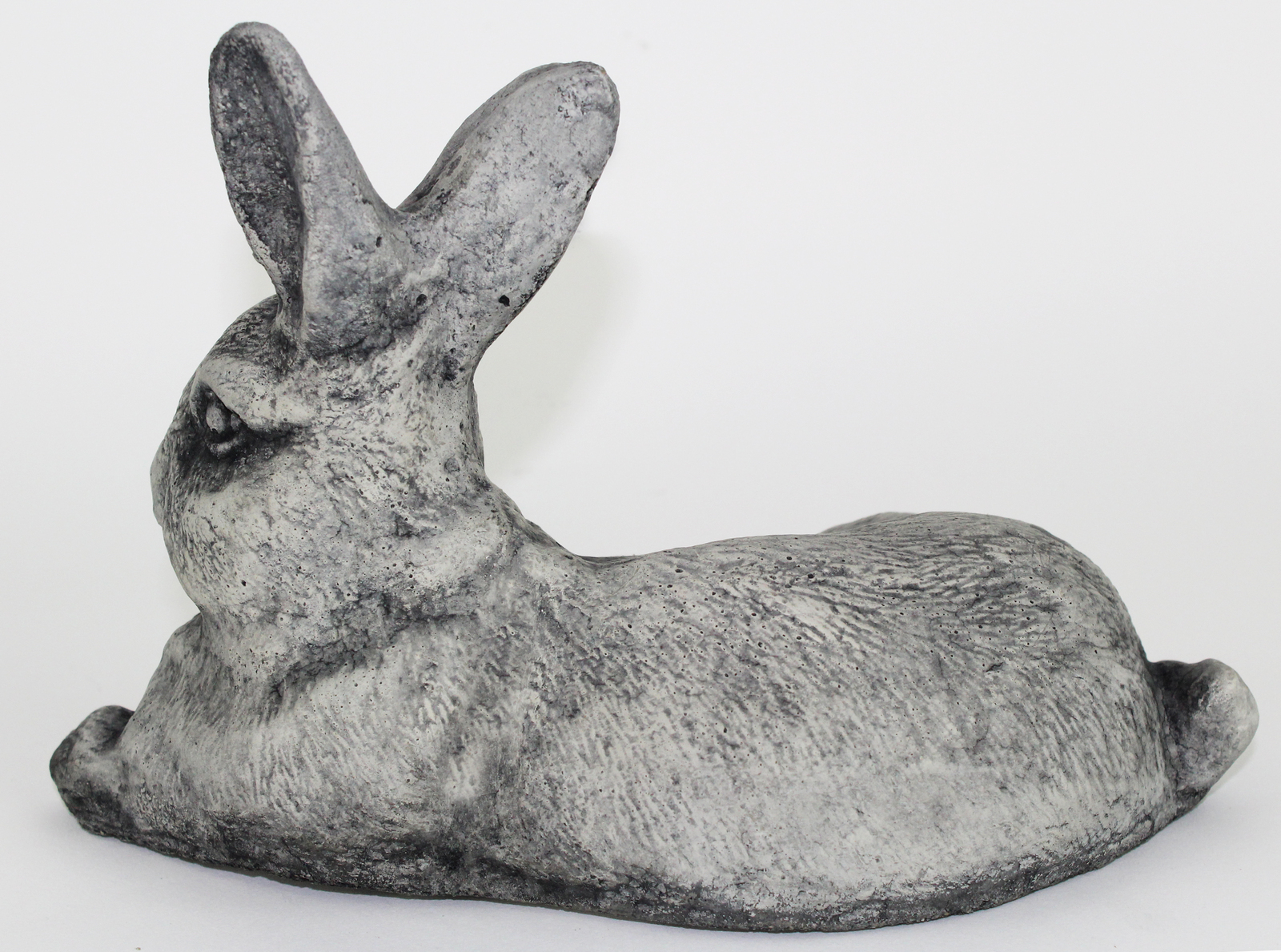Laying Rabbit Concrete Statue