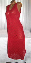1X Red All Stretch Lace Long Nightgown Gowns Si... - $21.78