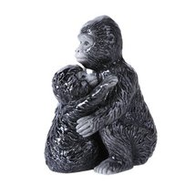 4.75 inches Gorilla family Magnetic Salt and Pepper Shaker Kitchen Set - $12.22